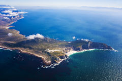 Cape Point, South Africa. Aerial view of Cape Point Nature Reserve, Cape Town, South Africa. Part of the Cape Peninsula stock photos