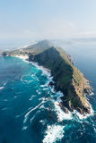 Cape Point South Africa aerial view Stock Images