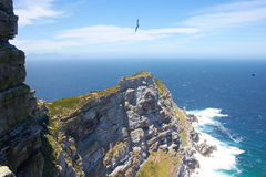 Cape point, South Africa. View of cape point in South Africa Royalty Free Stock Photos