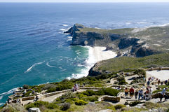 Cape Point South Africa. Visitors at Cape Point South Africa royalty free stock photography