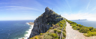 Cape Point walking trail Stock Photos