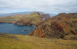 Cape Ponta de Sao Lourenco on Madeira island Royalty Free Stock Photo