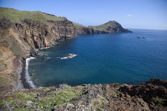Cape Ponta de Sao Lourenco, Madeira. Island, Portugal Stock Photography