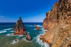 Cape Ponta de Sao Lourenco - Madeira Portugal Stock Photos