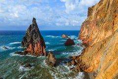 Cape Ponta de Sao Lourenco - Madeira Portugal Royalty Free Stock Images