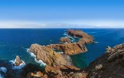 Cape Ponta DE Sao Lourenco - Madera Portugal Stock Fotografie