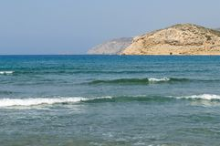 Cape Prasonisi southern part of the island of Rhodes. royalty free stock photography