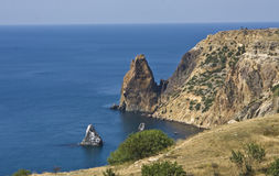 Cape (promontory) Fiolent, Crimea Stock Photography
