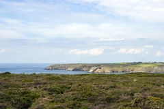Cape Ra, (Pointe du Raz), westernmost France point Royalty Free Stock Images