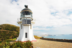 Cape Reigna lighthouse Royalty Free Stock Photography