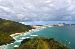 Cape Reinga Beach - Far North New Zealand Royalty Free Stock Photos