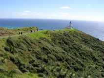 Cape Reinga Lighthouse. Almost the northernmost point in New Zealand Stock Photography