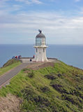 Cape Reinga Lighthouse. At the top of the North Island, New Zealand Royalty Free Stock Photo
