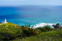 Cape Reinga Lighthouse Landscape Stock Photography