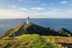 Cape Reinga lighthouse Royalty Free Stock Photos