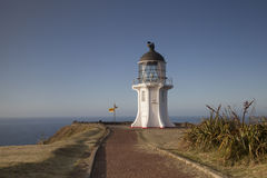 Cape Reinga lighthouse Royalty Free Stock Photo