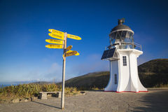 Cape Reinga lighthouse Stock Photography