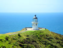 Cape Reinga Lighthouse, New Zealand. Cape Reinga Lighthouse, northern most tip of New Zealand Royalty Free Stock Photo