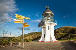 Cape Reinga Lighthouse Royalty Free Stock Images
