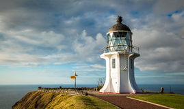 Cape Reinga Lighthouse Royalty Free Stock Photography