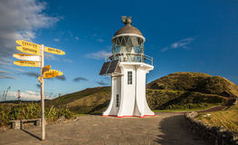 Cape Reinga Lighthouse Stock Photo
