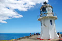 Cape Reinga lighthouse Stock Image