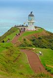 Cape Reinga Lighthouse, north island New Zealand Royalty Free Stock Photo