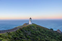 Cape Reinga lighthouse. The northernmost point of the north island of New Zealand Stock Photos