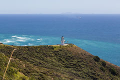 Cape Reinga Lighthouse Stock Photography