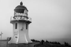 Cape Reinga, New Zealand. Oceans colliding in Cape Reinga, North Island in New Zealand Stock Image