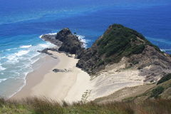 Cape Reinga. The northern tip of New Zealand Stock Image