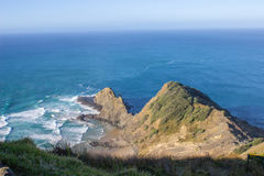 Cape Reinga. The northernmost point of the north island of New Zealand Stock Images