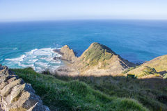 Cape Reinga. The northernmost point of the north island of New Zealand Royalty Free Stock Image