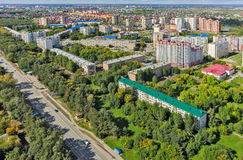Cape residential complex. Tyumen. Russia Royalty Free Stock Images