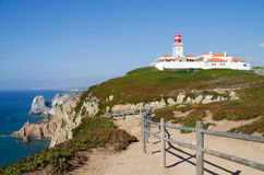 Cape Roca Lighthouse Stock Images