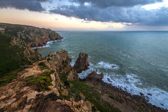 Cape Rock at sunset Stock Photography