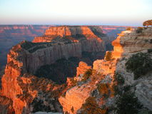 Cape Royal Sunrise. Grand Canyon Royalty Free Stock Photography