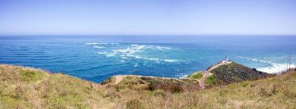 Cape reinga New Zealand. Lighthouse of Cape Reinga from northland New Zealand Stock Image