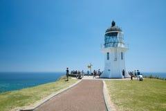 Cape reinga New Zealand. Lighthouse of Cape Reinga from northland New Zealand Royalty Free Stock Images