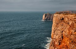 Cape Saint Vincent, Portugal royalty free stock images
