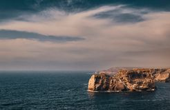 Cape Saint Vincent, Portugal stock photos