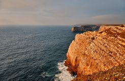 Cape Saint Vincent, Portugal stock image