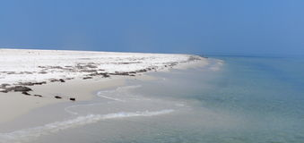 Cape San Blas Beach Royalty Free Stock Photo