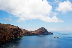 Cape San Lorenzo on island of Madeira Royalty Free Stock Image