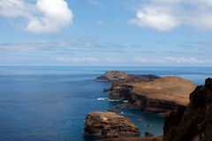 Cape San Lorenzo on the island of Madeira Royalty Free Stock Image