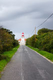 Cape Sardao Lighthouse Royalty Free Stock Images