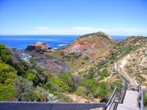 Cape Schanck Boardwalk. Photo taken of the boardwalk at Cape Schank, Mornington Peninsula, Australia royalty free stock images
