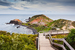 Cape Schanck Boardwalk Royalty Free Stock Images