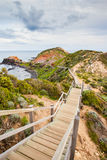 Cape Schanck Boardwalk Royalty Free Stock Photography