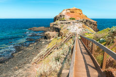Cape Schanck coastline, Victoria - Southern Australia Royalty Free Stock Photo